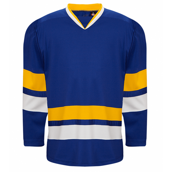 Premium Team Jersey: Charlestown Chiefs (Slap Shot) Blue - Canadian Jersey Superstore