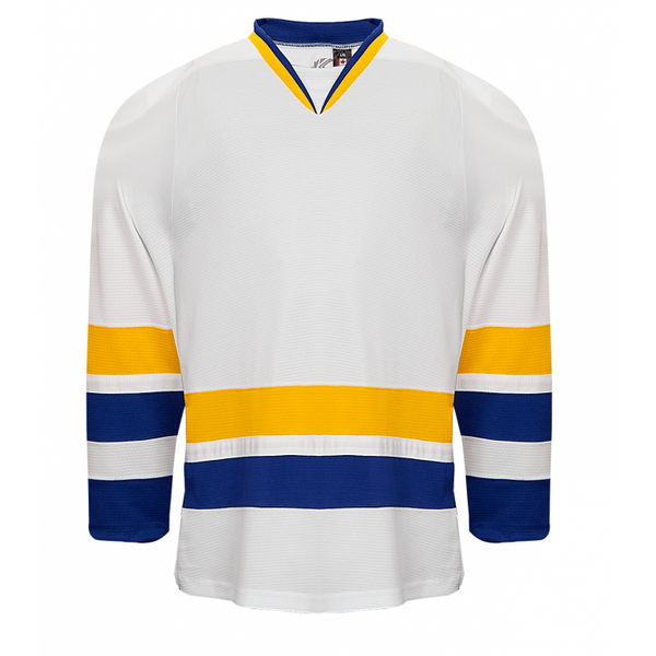 Premium Team Jersey: Charlestown Chiefs (Slap Shot) White - Canadian Jersey Superstore