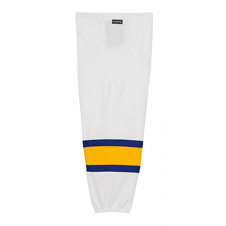 Premium NHL Pattern Socks: Charlestown Chiefs (Slap Shot) White - Canadian Jersey Superstore