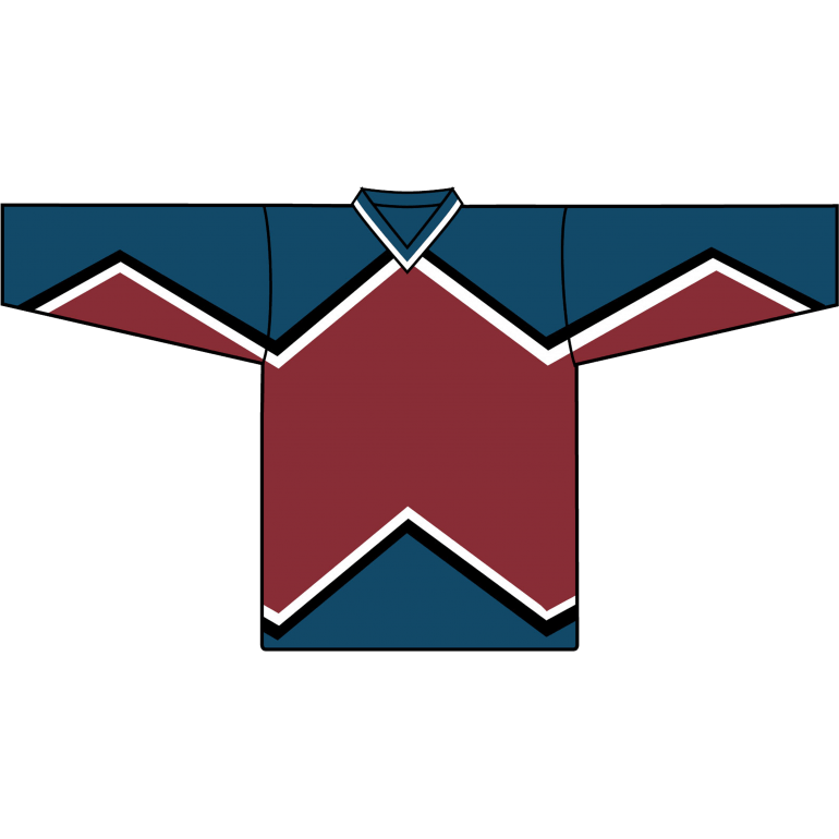 Retro Team Jersey: Colorado Avalanche 1995 Burgundy - Canadian Jersey Superstore
