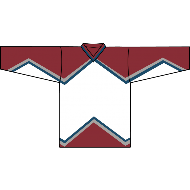 Retro Team Jersey: Colorado Avalanche 1995 White - Canadian Jersey Superstore
