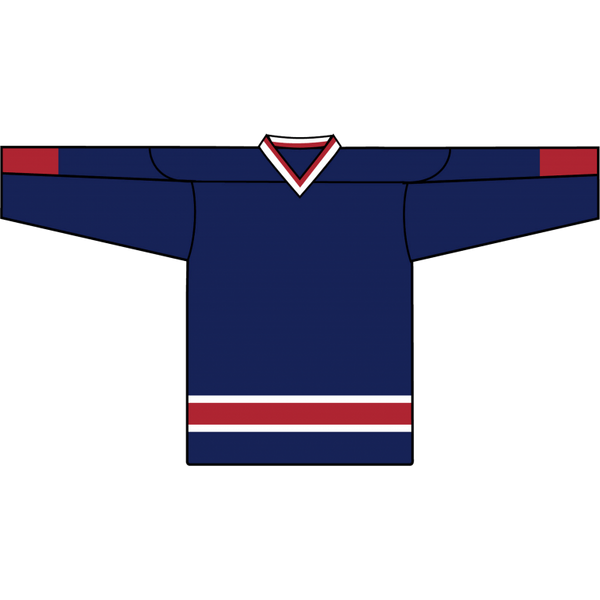 Retro Team Jersey: Columbus Blue Jackets 2000 Navy - Canadian Jersey Superstore