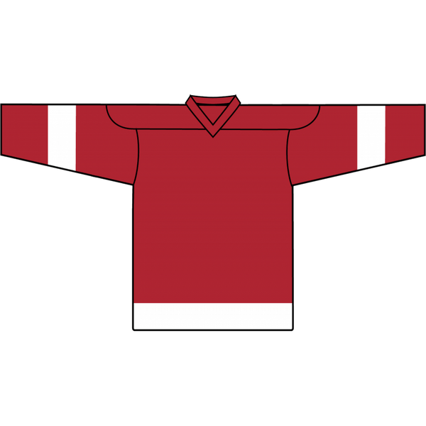 Retro Team Jersey: Detroit Red Wings Red - Canadian Jersey Superstore