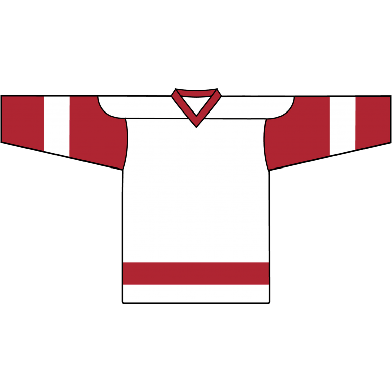 Retro Team Jersey: Detroit Red Wings White - Canadian Jersey Superstore