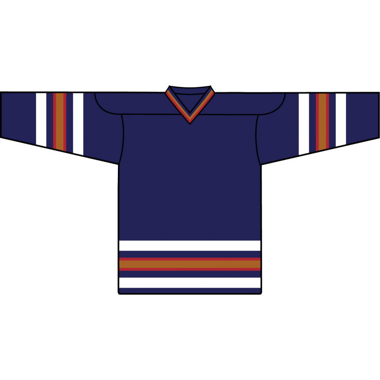 9adf9578419 Retro Team Jersey: Edmonton Oilers 1996 Navy - Canadian Jersey Superstore