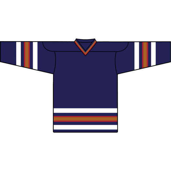 Retro Team Jersey: Edmonton Oilers 1996 Navy - Canadian Jersey Superstore