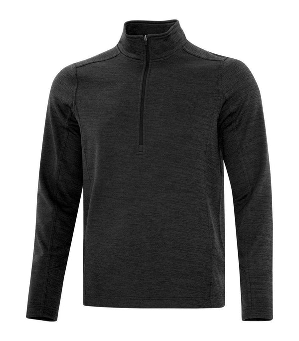 Performance Fleece Sweater: Premium Colour Variations 1/2 Zip Heather