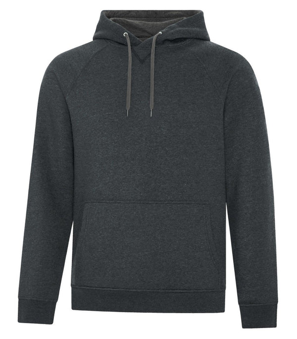 Premium Fleece Sweater: Men's Cut Black Drawstring