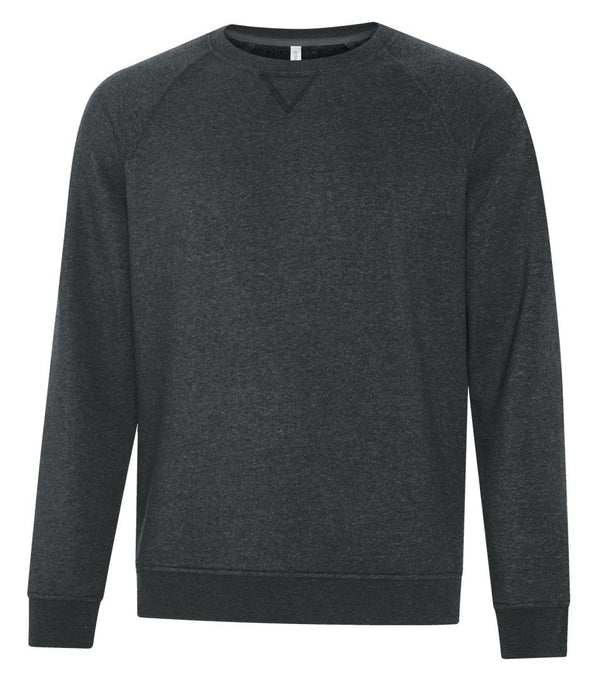 Premium Fleece Sweater: Crew Neck