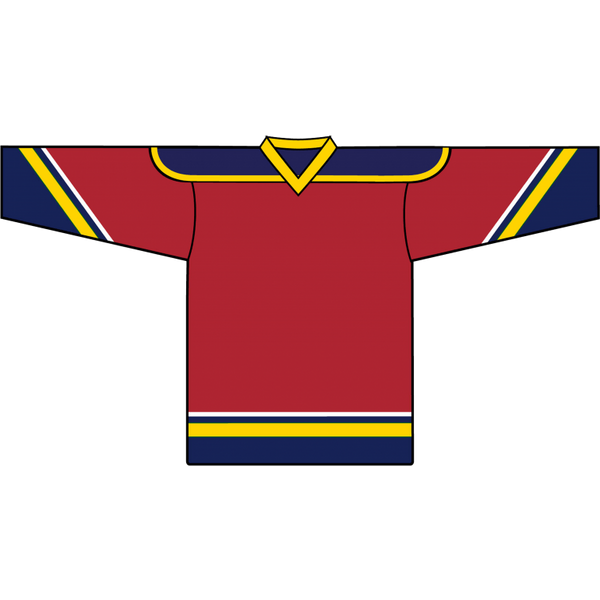 Retro Team Jersey: Florida Panthers 1993 Red - Canadian Jersey Superstore