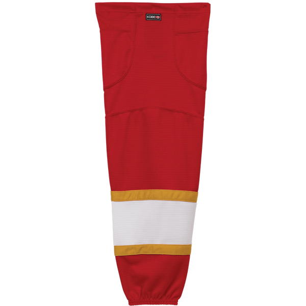 Premium NHL Pattern Socks: Florida Panthers Red