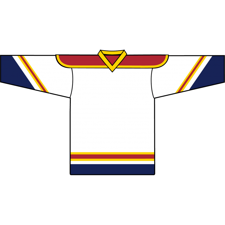 Retro Team Jersey: Florida Panthers 1993 White - Canadian Jersey Superstore
