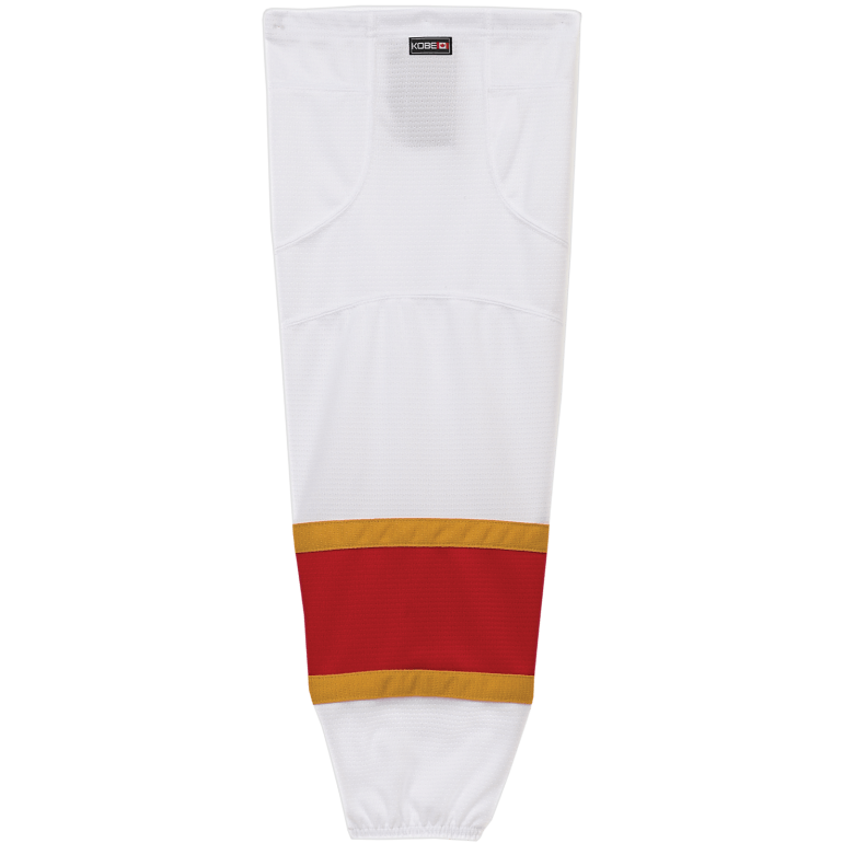 Premium NHL Pattern Socks: Florida Panthers White