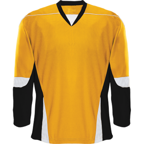 Alternative Team Jersey: Gold/Black/White