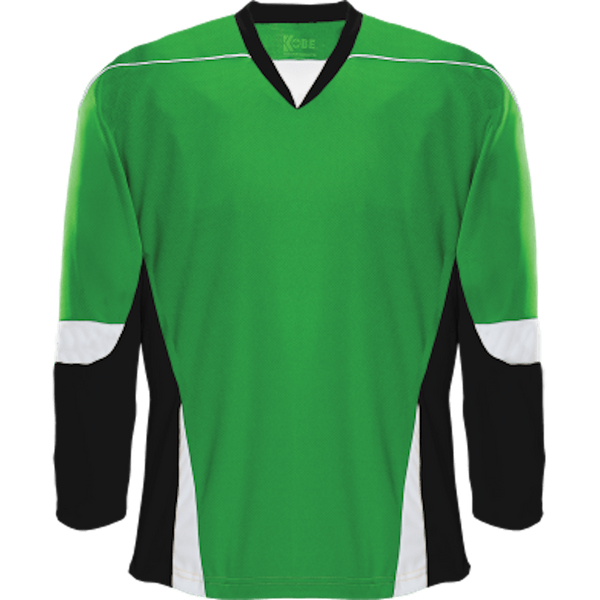 Alternative Team Jersey: Kelly Green/Black/White