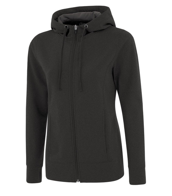 Performance Fleece Sweater:  Women's Cut Basic Solid Colours Full Zip
