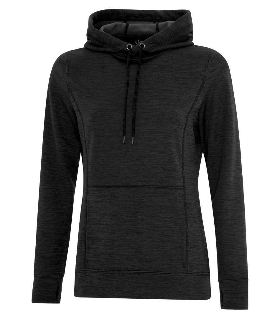 Performance Fleece Sweater:  Women's Cut Premium Colour Variations Heather Pattern