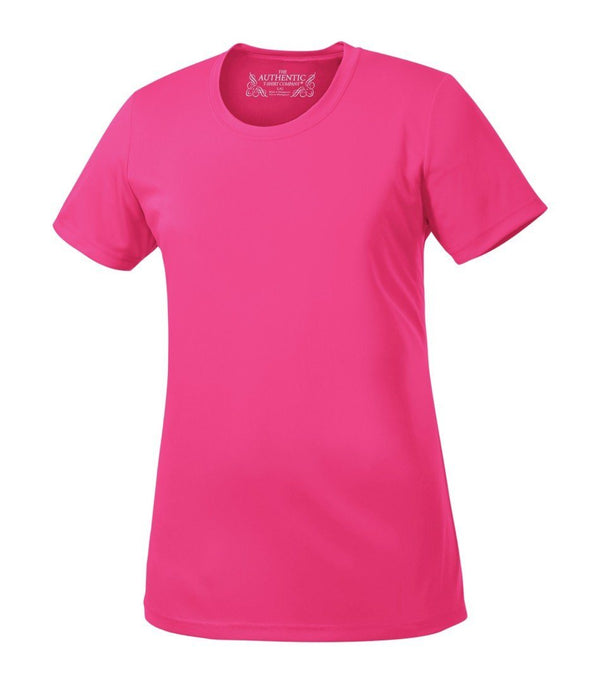 Performance T-Shirt: Women's Cut Basic Solid Colours