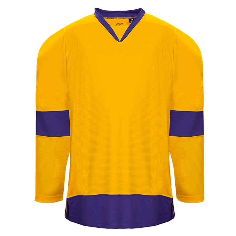 Premium Team Jersey: Los Angeles Kings 1980 Yellow - Canadian Jersey Superstore