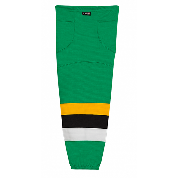 Premium NHL Pattern Socks: Minnesota North Stars 1991 Green - Canadian Jersey Superstore
