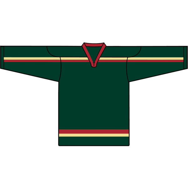 Retro Team Jersey: Minnesota Wild 2000 Green - Canadian Jersey Superstore