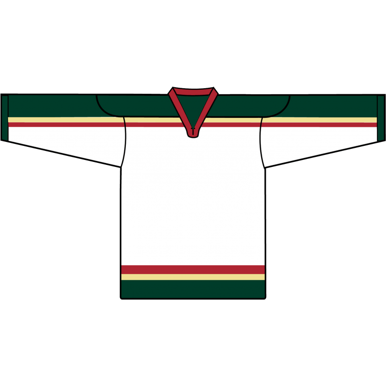 Retro Team Jersey: Minnesota Wild 2000 White - Canadian Jersey Superstore