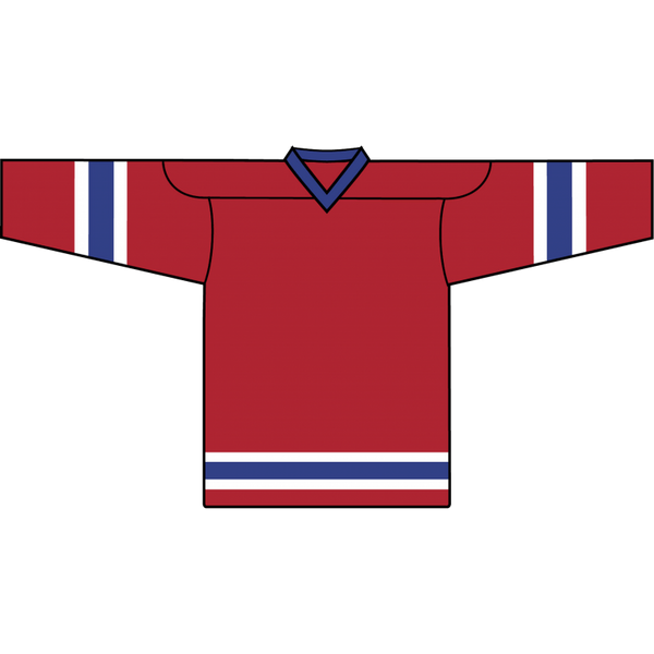 Retro Team Jersey: Montreal Canadiens Red - Canadian Jersey Superstore