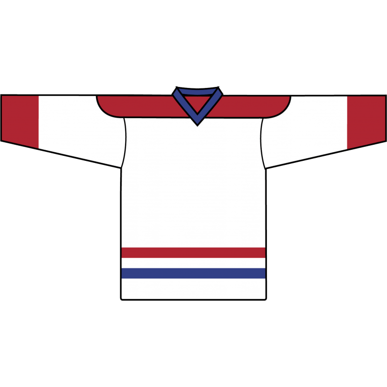 Retro Team Jersey: Montreal Canadiens White - Canadian Jersey Superstore