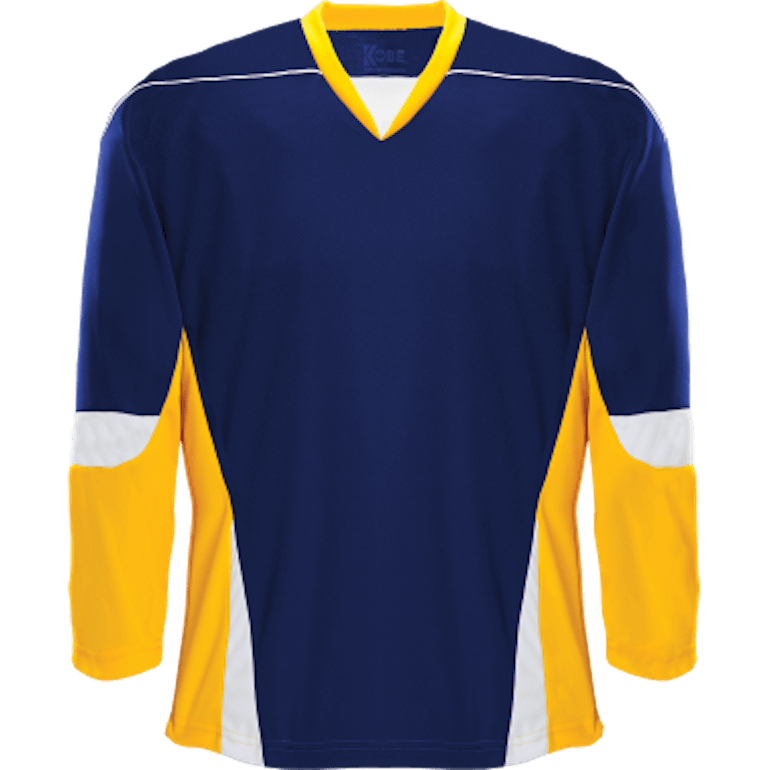 Alternative Team Jersey: Navy/Gold/White