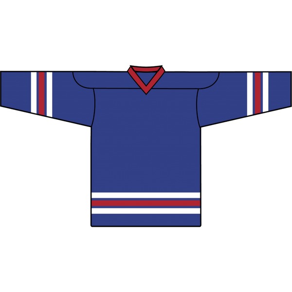 Retro Team Jersey: New York Rangers 1978 Blue - Canadian Jersey Superstore