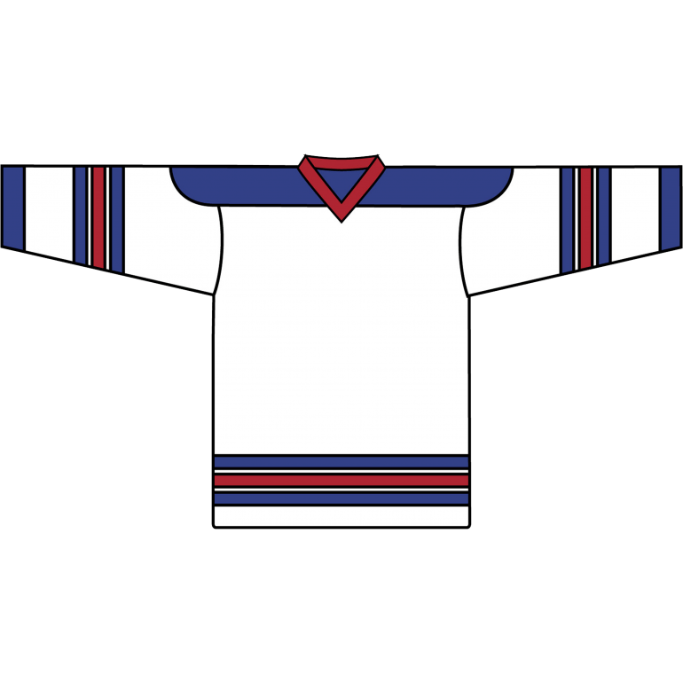 Retro Team Jersey: New York Rangers 1978 White - Canadian Jersey Superstore