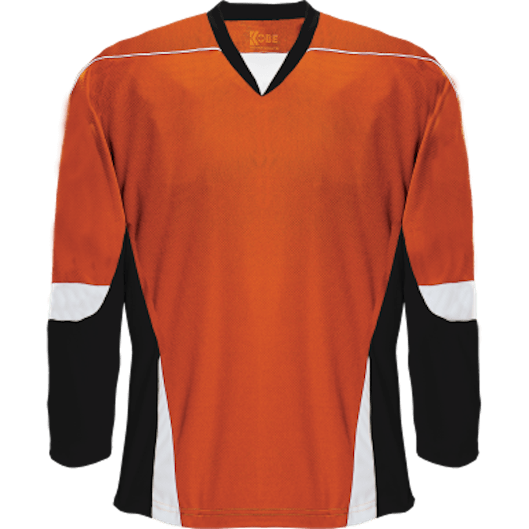 Alternative Team Jersey: Orange/Black/White