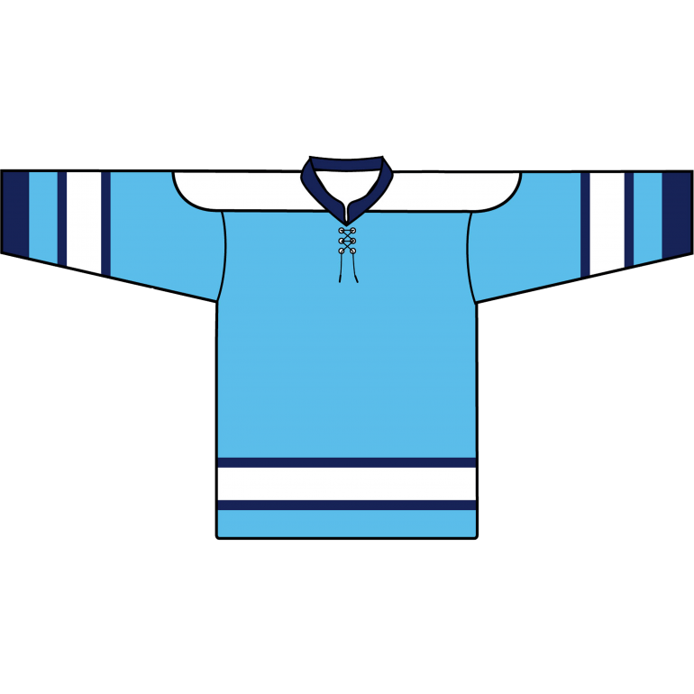 online store 6939d 07900 Retro Team Jersey: Pittsburgh Penguins 1968 Baby Blue