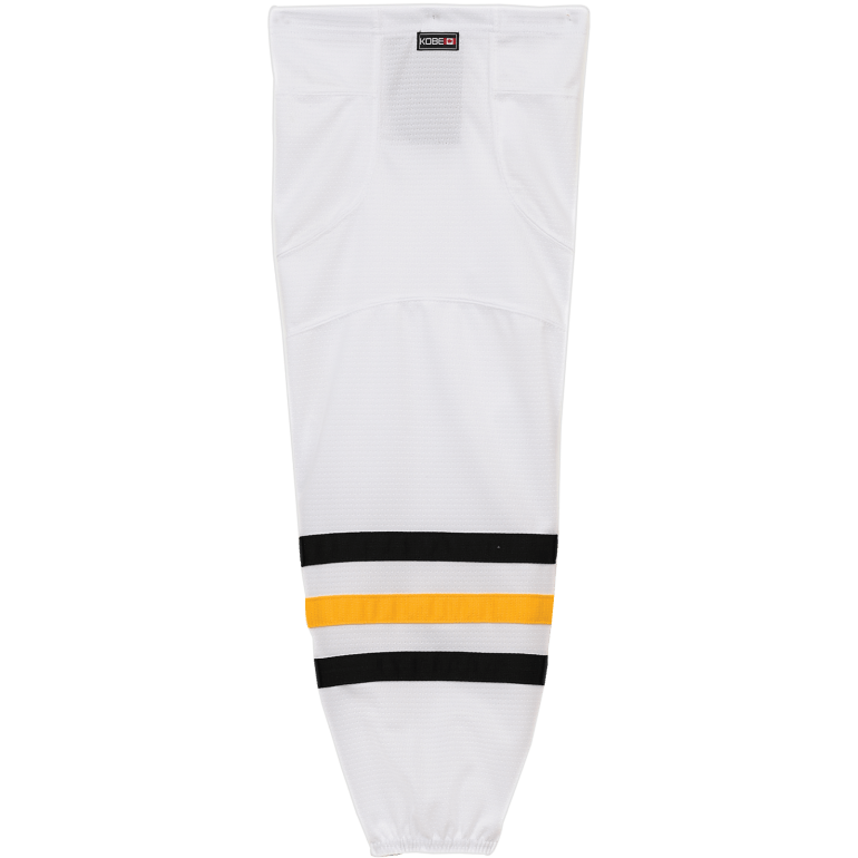 Premium NHL Pattern Socks: Pittsburgh Penguins White Socks