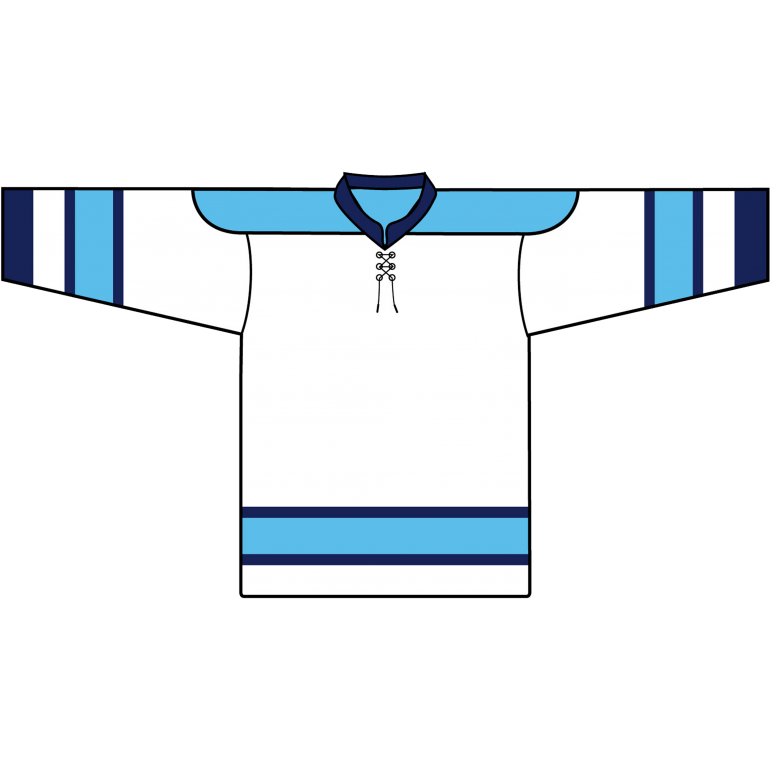 Retro Team Jersey: Pittsburgh Penguins 1968 White - Canadian Jersey Superstore