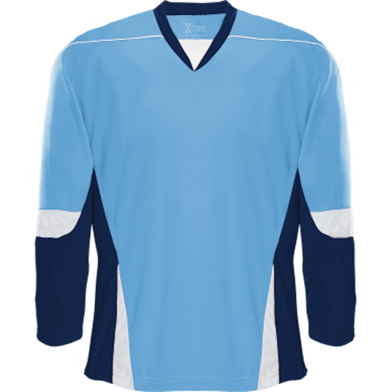 Alternative Team Jersey: Powder Blue/Navy/White