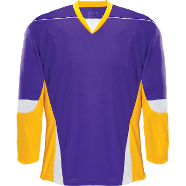 Alternative Team Jersey: Purple/Gold/White