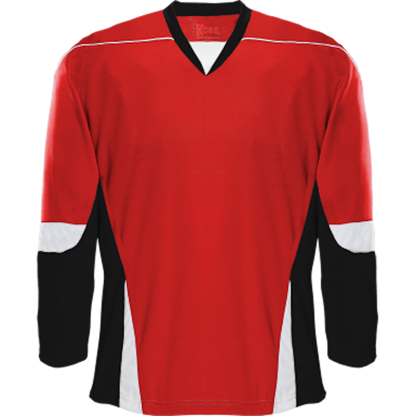 Alternative Team Jersey: Red/Black/White