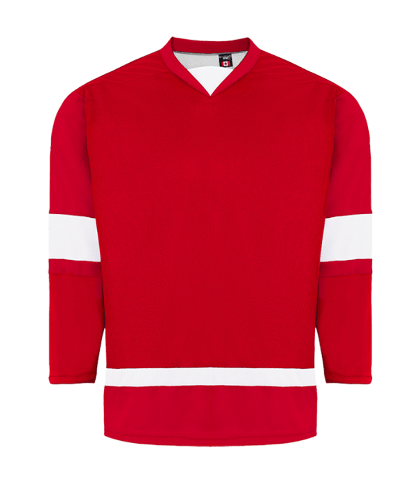 House League Jersey: Red/White