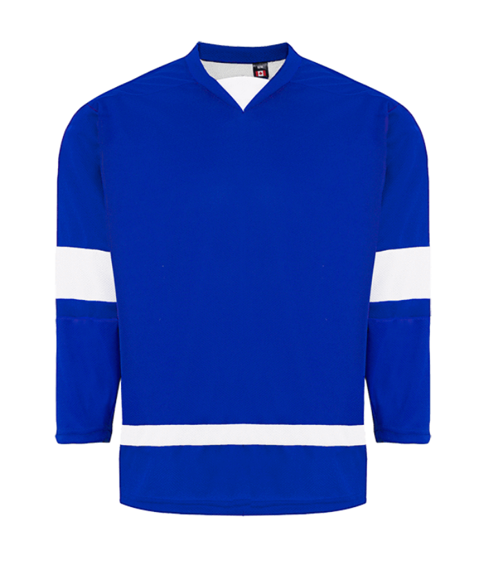 House League Jersey: Royal Blue/White