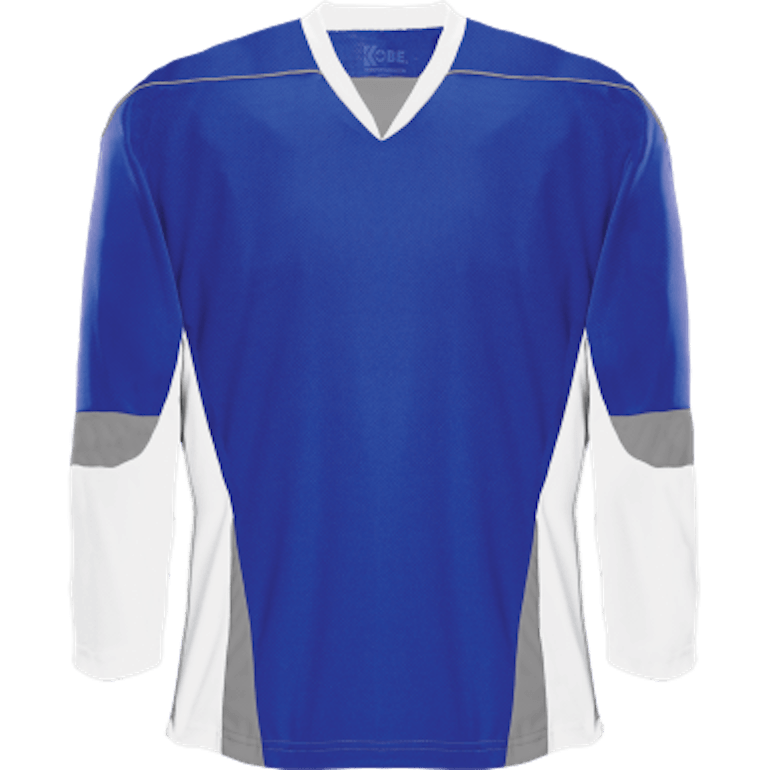 Alternative Team Jersey: Royal Blue/White/Grey