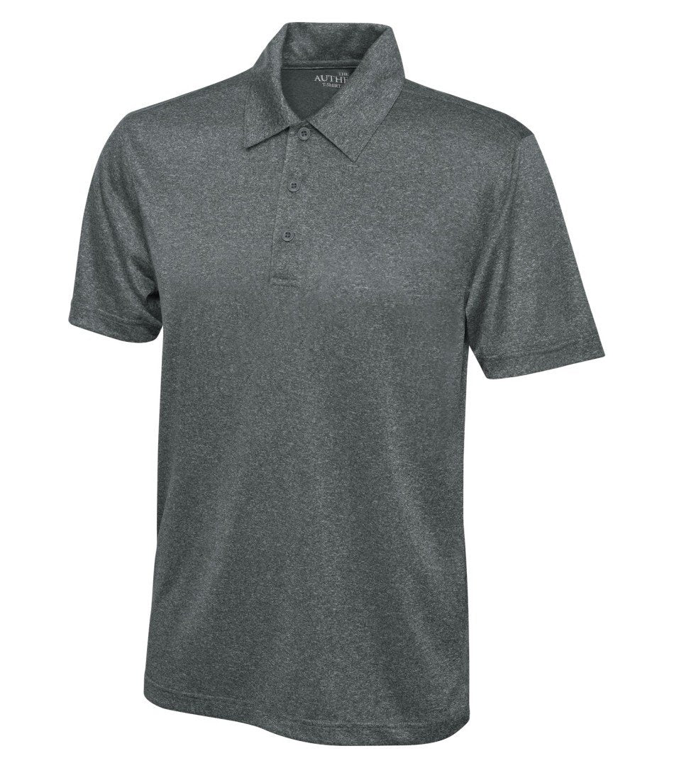 Basic Sport Shirt: Men's Cut Heather Pattern