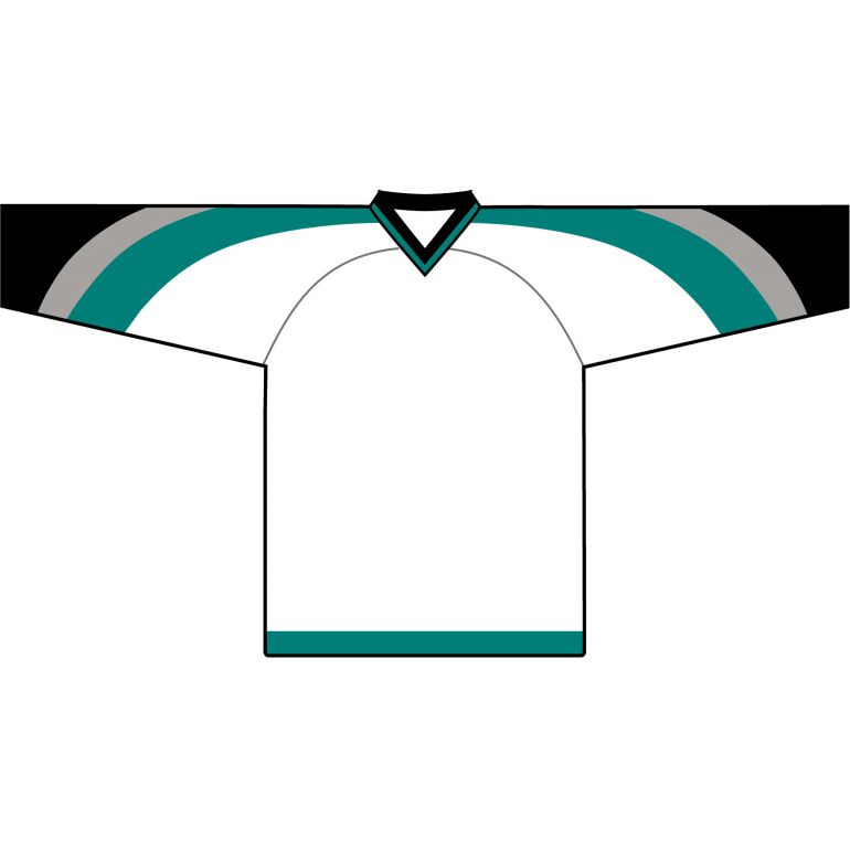 Retro Team Jersey: San Jose Sharks 1998 White - Canadian Jersey Superstore