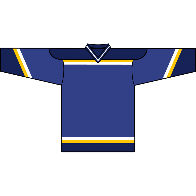 Retro Team Jersey: St. Louis Blues 1998 Blue - Canadian Jersey Superstore