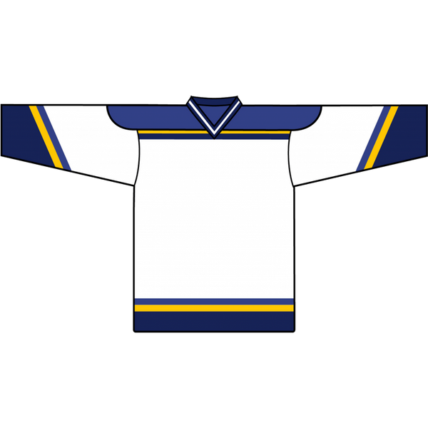 Retro Team Jersey: St. Louis Blues 1998 White - Canadian Jersey Superstore