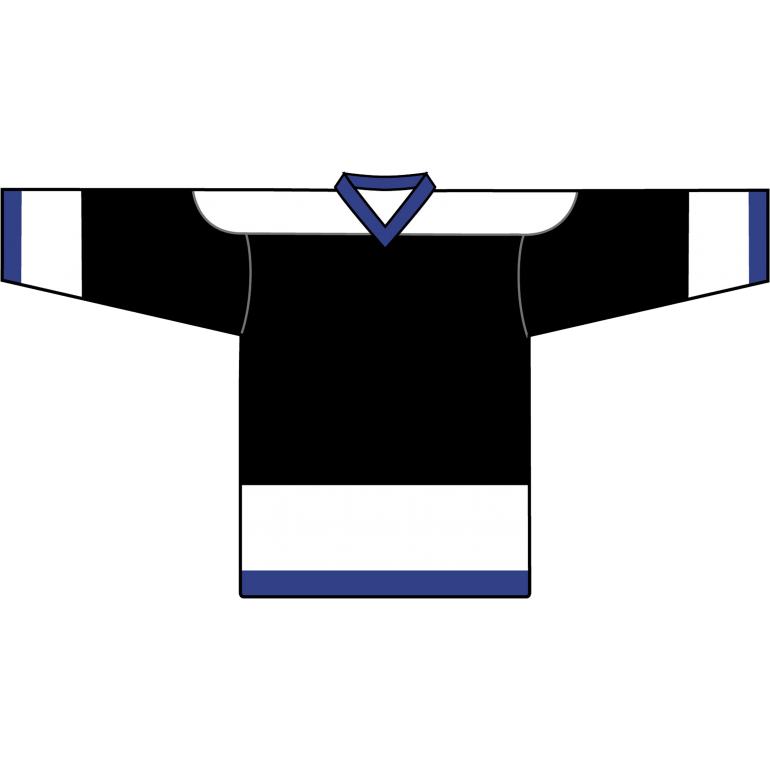 Retro Team Jersey: Tampa Bay Lightning 1992 Black - Canadian Jersey Superstore
