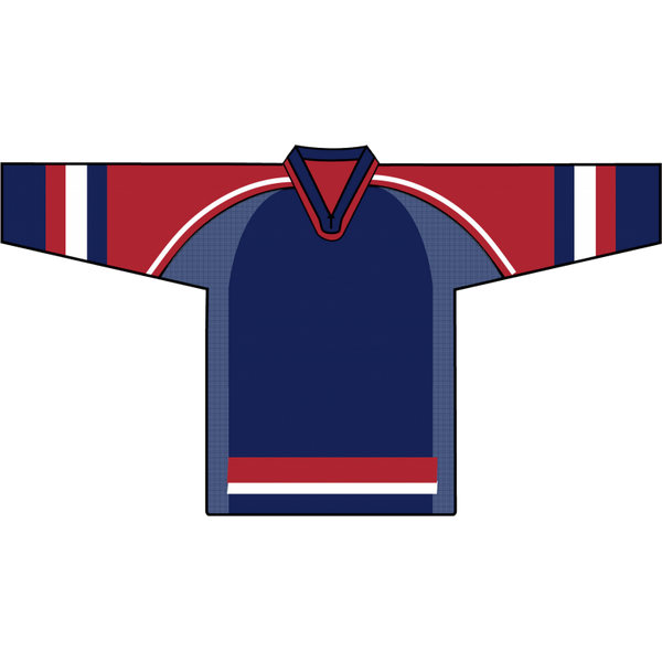 Retro Team Jersey: Team USA 2002 Navy - Canadian Jersey Superstore