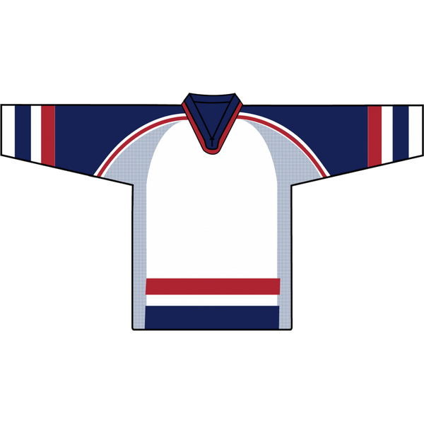 Retro Team Jersey: Team USA 2002 Olympic White - Canadian Jersey Superstore