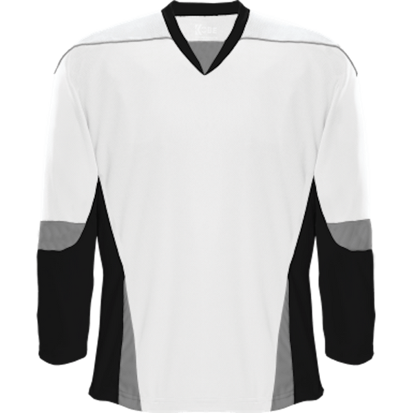 Alternative Team Jersey: White/Black/Grey