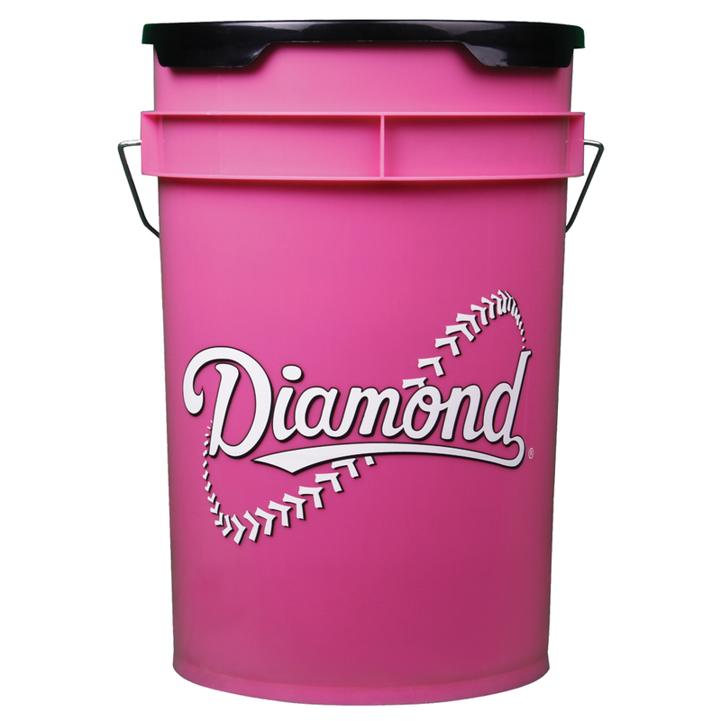 Pink 6 Gallon Bucket - Diamond Dugout